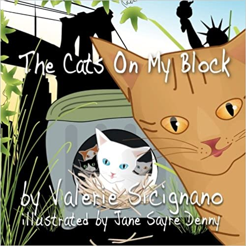 The Cats on My Block Book Cover